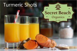 Secret Beach Organics Turmeric sold at Coachella Yoga